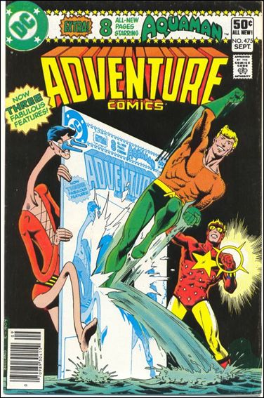 Adventure Comics (1938) 475-A by DC