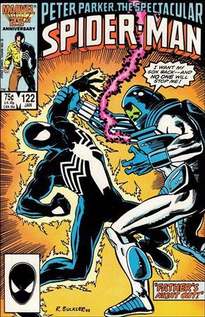 Spectacular Spider-Man (1976) 122-A