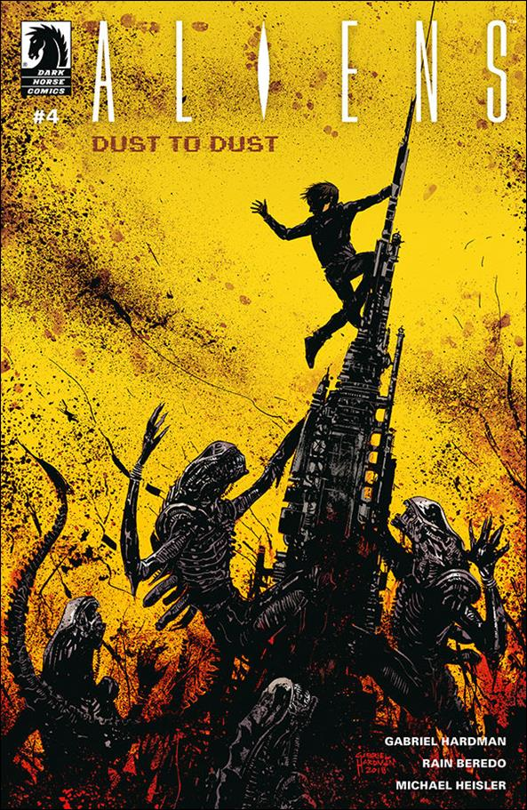 Aliens: Dust to Dust 4-A by Dark Horse
