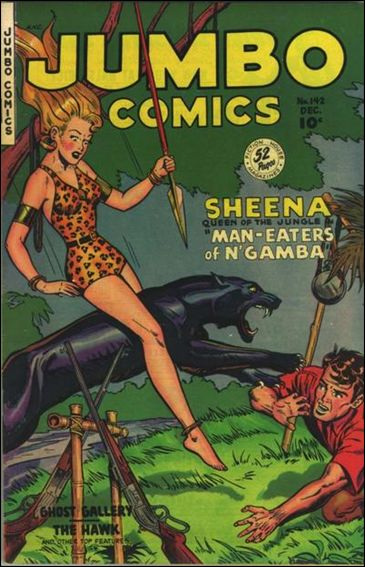 Jumbo Comics (1938) 142-A by Fiction House Magazines