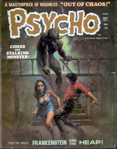 Psycho (1971) 4-A by Skywald