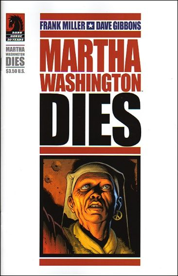 Martha Washington Dies 1nn-A by Dark Horse