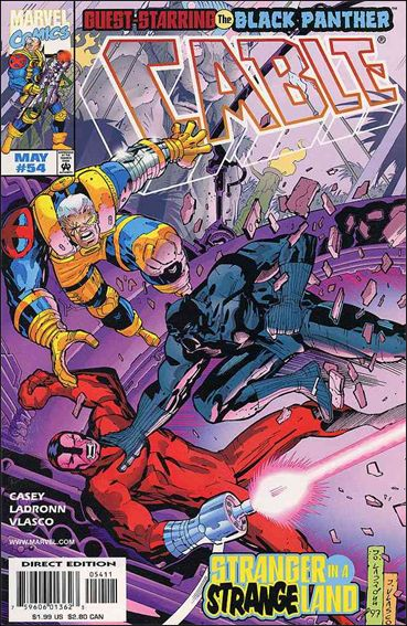 Cable (1993) 54-A by Marvel