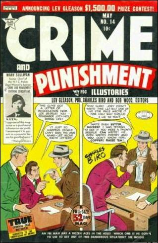 Crime and Punishment 14-A by Lev Gleason Productions
