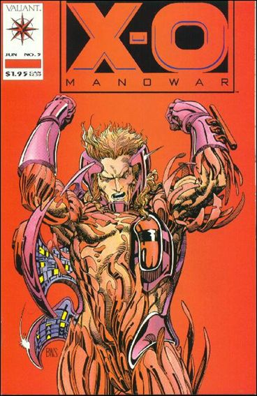 X-O Manowar (1992) 5-A by Valiant