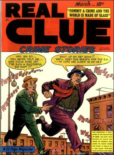 Real Clue Crime Stories (1950) 1-A by Hillman