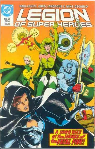 Legion of Super-Heroes (1984) 26-A by DC