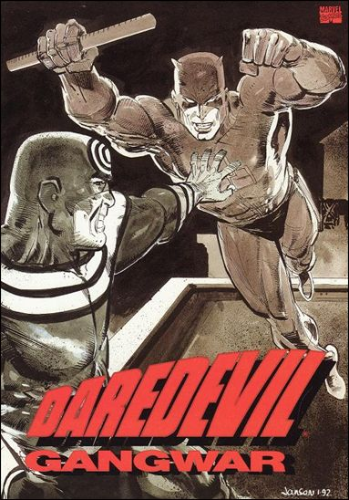 Daredevil: Gang War 1-A by Marvel