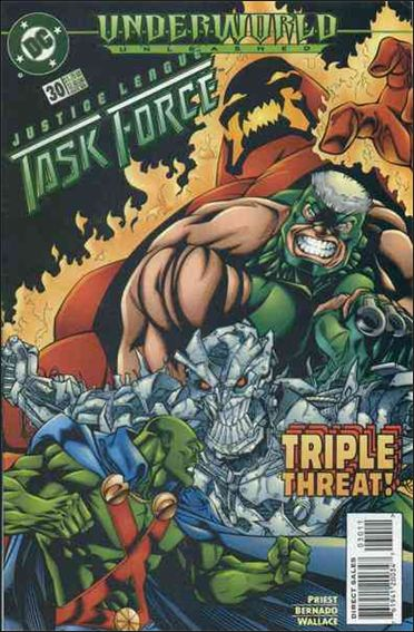 Justice League Task Force 30-A by DC