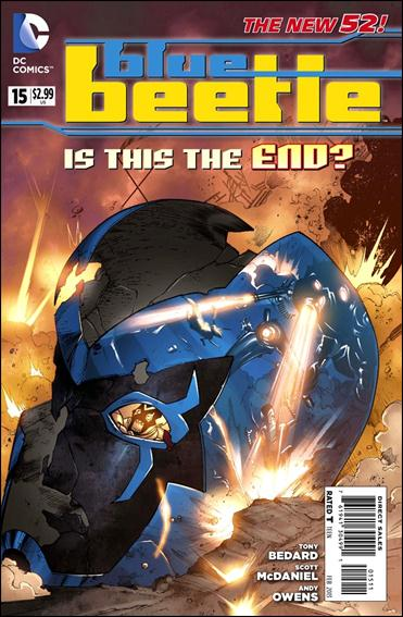 Blue Beetle (2011) 15-A by DC