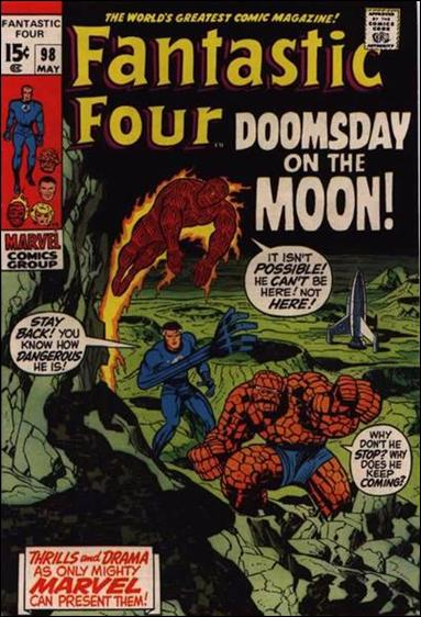 Fantastic Four (1961) 98-A by Marvel