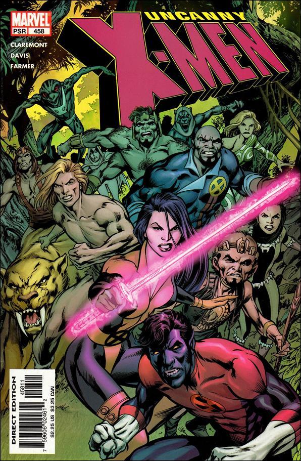 Uncanny X-Men (1981) 458-A by Marvel