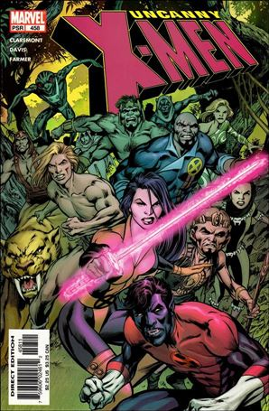 Uncanny X-Men (1981) 458-A