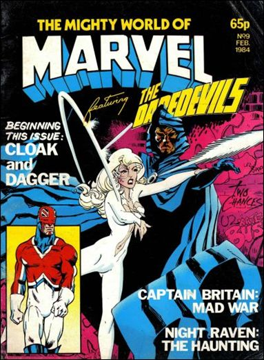 Mighty World of Marvel (UK) (1983) 9-A by Marvel UK