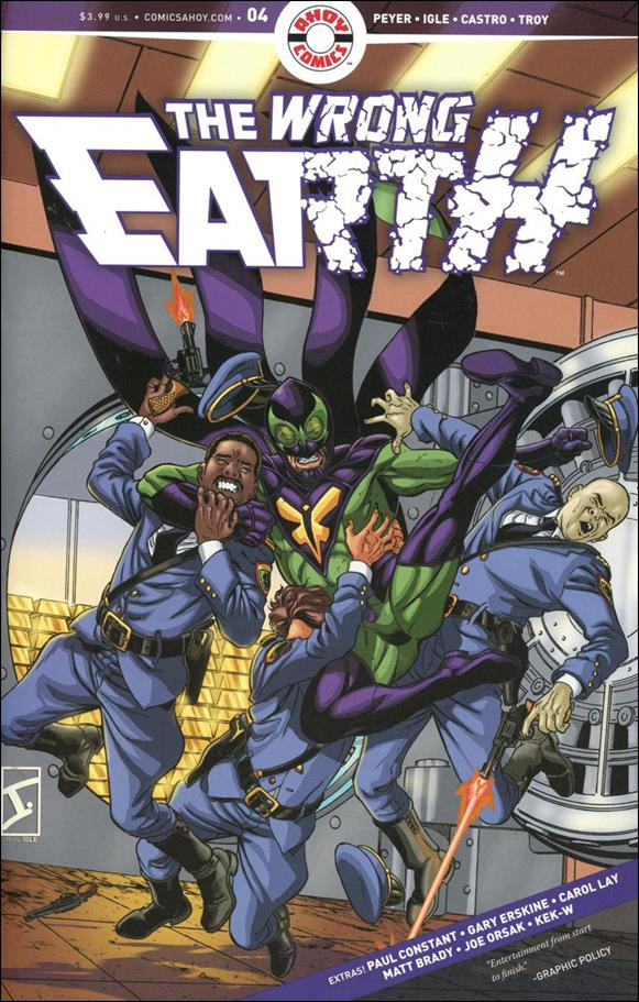 Wrong Earth 4-A by Ahoy Comics