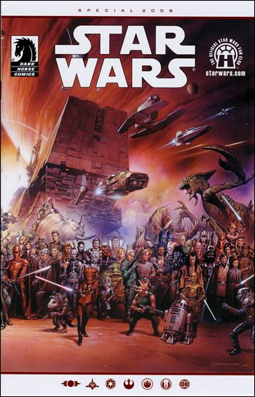Star Wars Fan Club Special 2008-A by Dark Horse