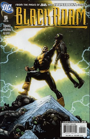 Black Adam: The Dark Age 5-A by DC