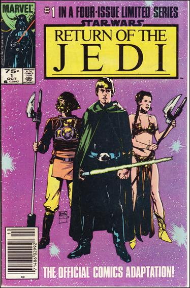 Star Wars: Return of the Jedi 1-B by Marvel