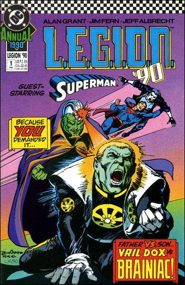 L.E.G.I.O.N. Annual 1-A by DC