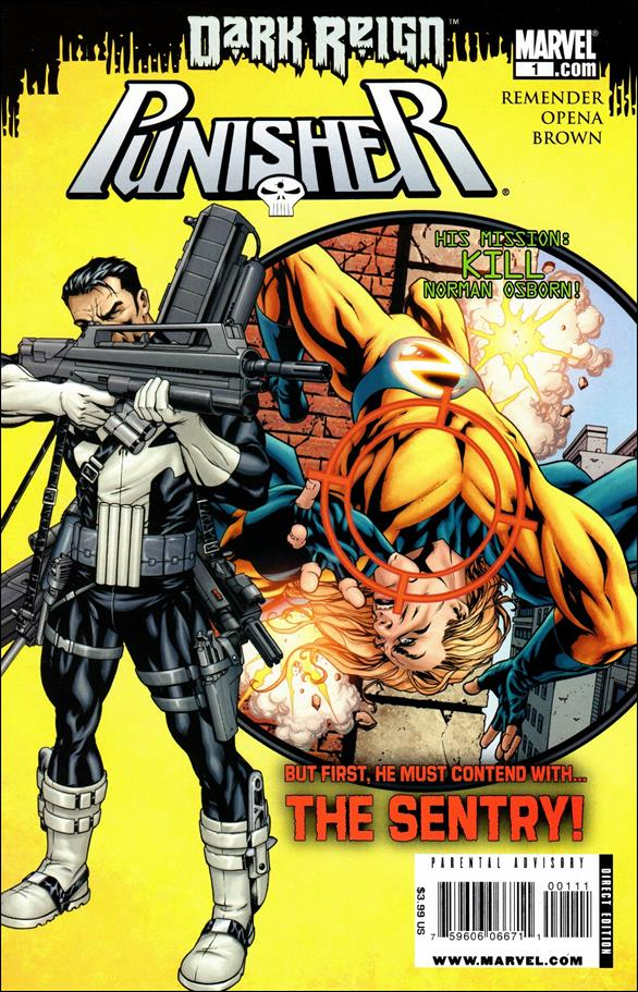 Punisher (2009) 1-A by Marvel