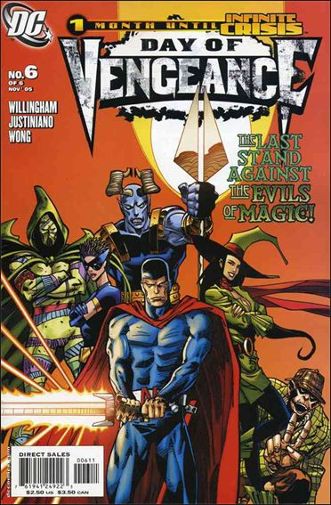 Day of Vengeance 6-A by DC