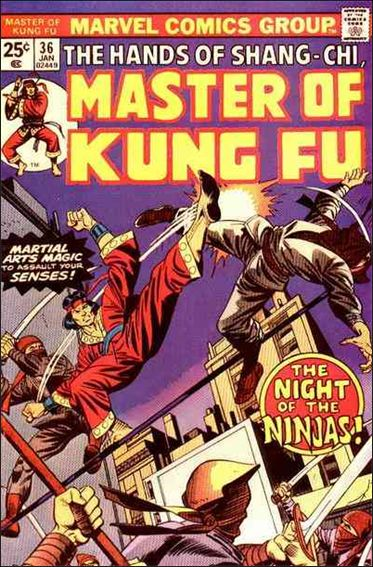 Master of Kung Fu 36-A by Marvel
