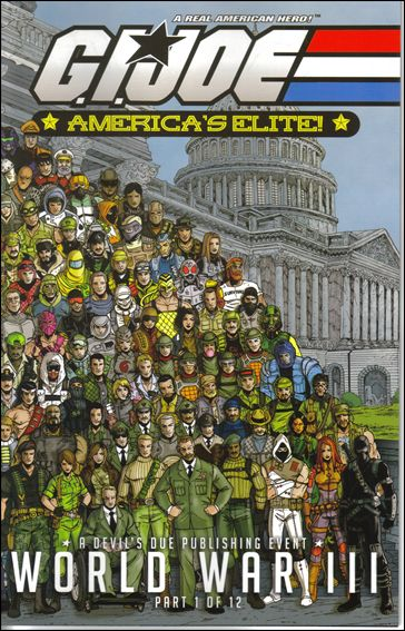 G.I. Joe: America's Elite 25-A by Devil's Due