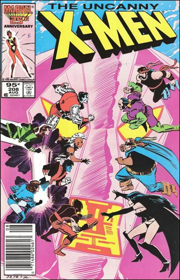 Uncanny X-Men (1981) 208-B by Marvel