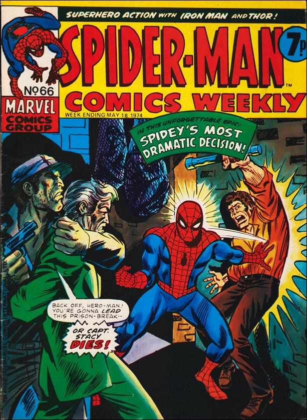 Spider-Man: Comics Weekly (UK) 66-A by Marvel UK