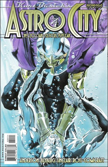 Kurt Busiek's Astro City (1996) 20-A by Homage Comics