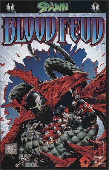 Spawn Blood Feud 4-A by Image