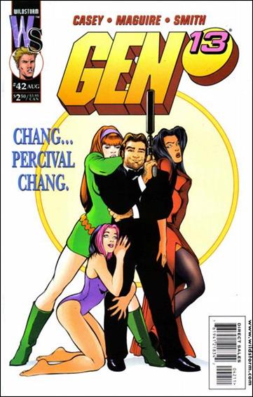 Gen13 (1995) 42-A by WildStorm