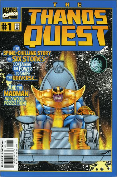 Thanos Quest (2000) 1-A by Marvel