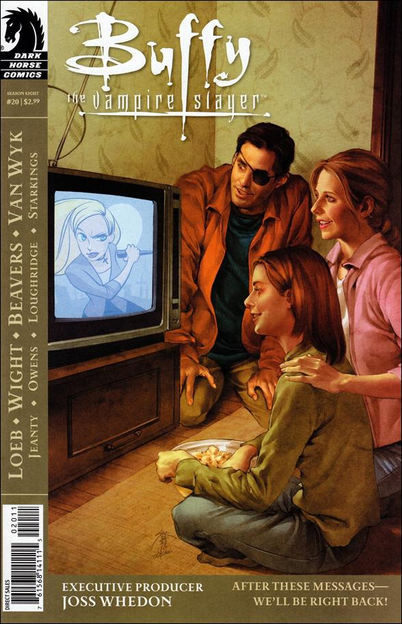 Buffy the Vampire Slayer Season Eight 20-A by Dark Horse