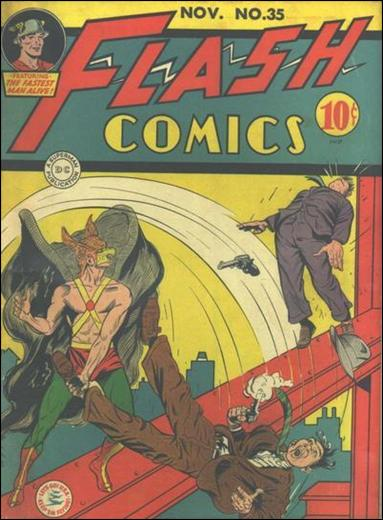 Flash Comics (1939) 35-A by DC