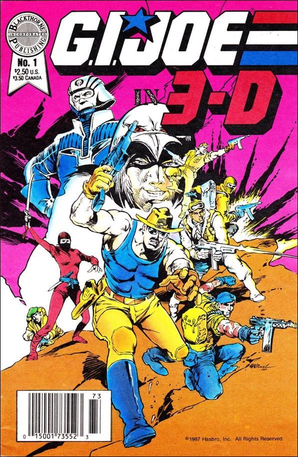 G.I. Joe in 3-D: Blackthorne 3-D Series 1-A by Blackthorne