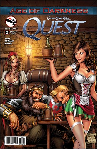 Grimm Fairy Tales Presents Quest 2-B by Zenescope Entertainment