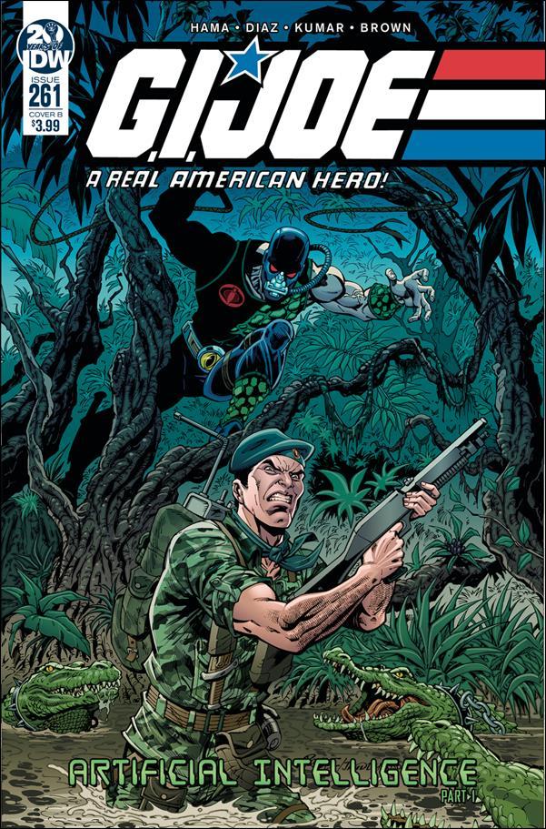 G.I. Joe: A Real American Hero 261-B by IDW