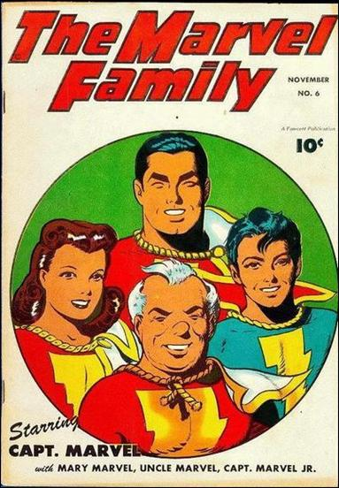 Marvel Family 6-A by Fawcett
