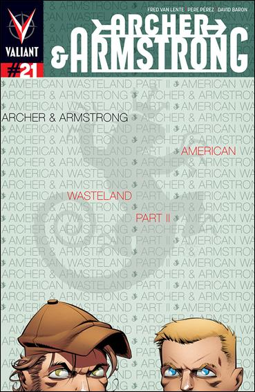 Archer & Armstrong (2012) 21-A by Valiant Entertainment