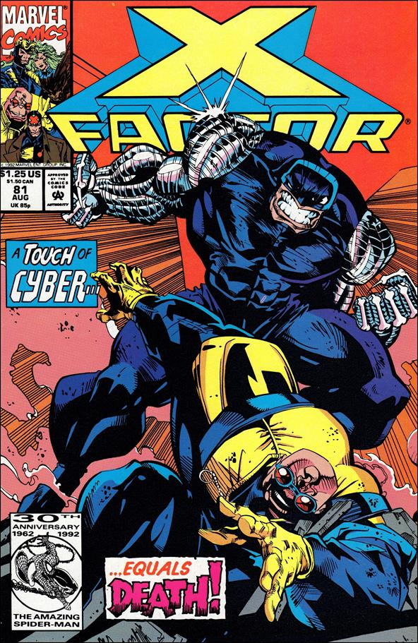 X-Factor (1986) 81-A by Marvel