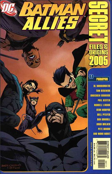 Batman Allies: Secret Files and Origins 1-A by DC