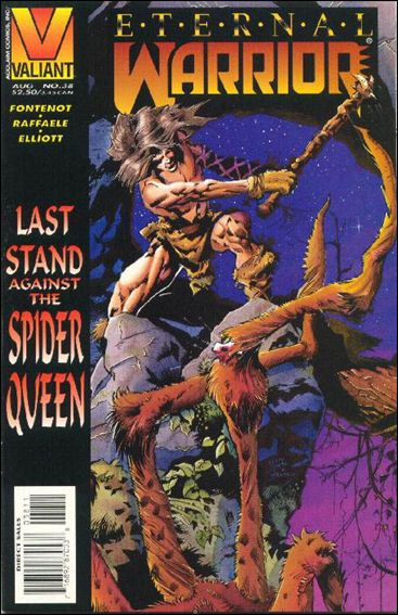 Eternal Warrior (1992) 38-A by Valiant