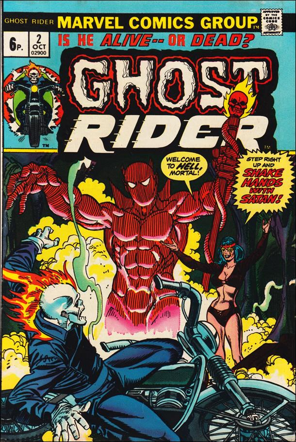 Ghost Rider (1973) 2-B by Marvel