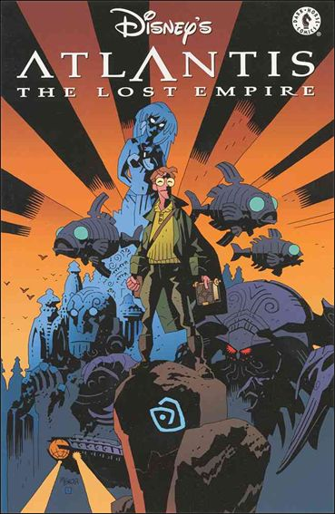 Atlantis: The Lost Empire 1-A by Dark Horse