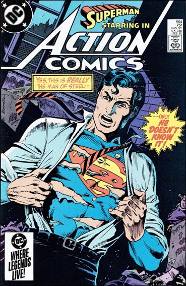 Action Comics (1938) 564-A by DC