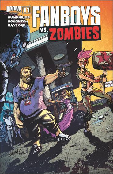 Fanboys vs Zombies 11-B by Boom! Studios