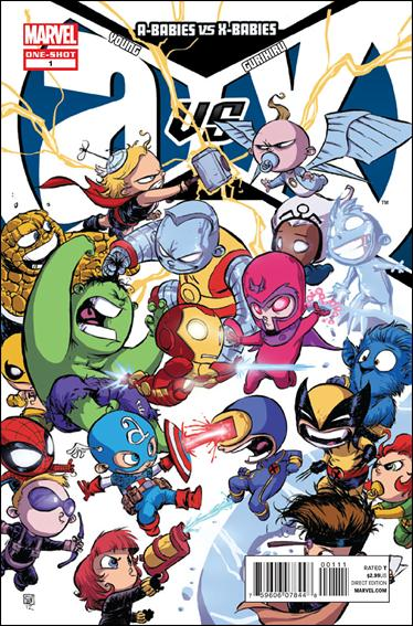 A-Babies vs X-Babies 1-A by Marvel