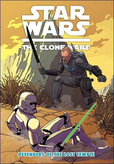 Star Wars: The Clone Wars - Defenders of the Lost Temple nn-A by Dark Horse