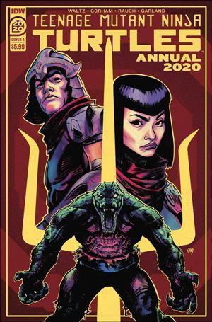 Teenage Mutant Ninja Turtles Annual 2020-A